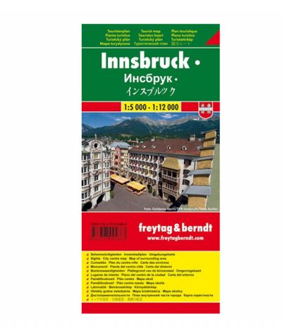 City Map Innsbruck