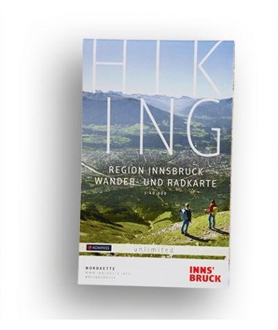 Hiking Map Innsbruck