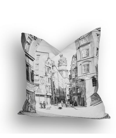 Cushion, Innsbruck as it used to be